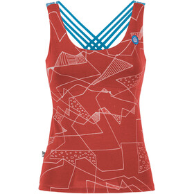 E9 Noa Tank Top Women wine